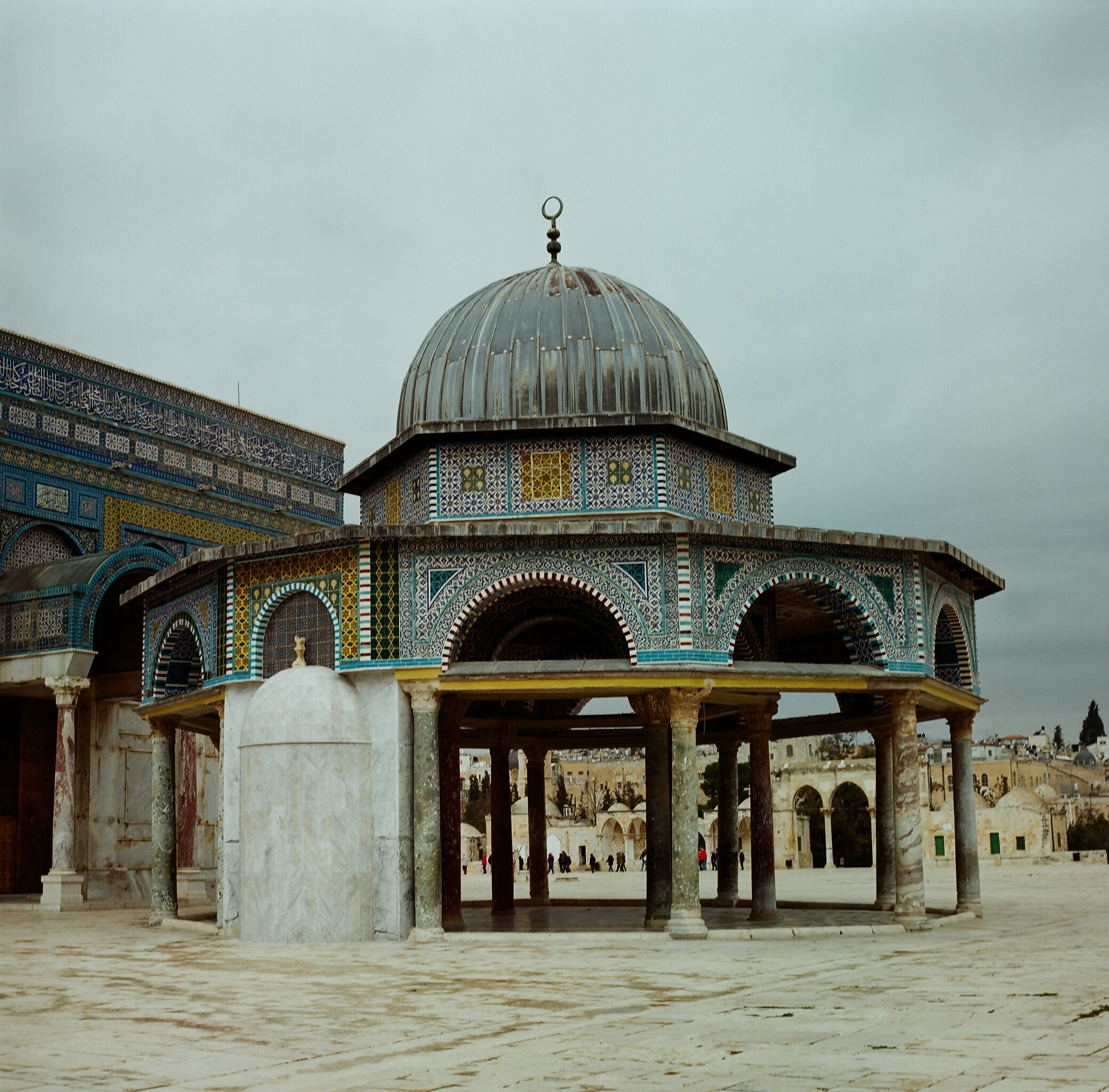 Dome of the Chain on Temple Mount, Jerusalem, Israel.